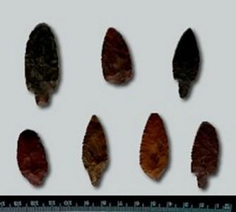 Каменные наконечники