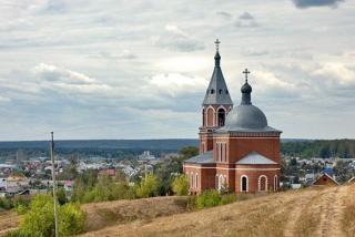 Биектау авылындагы Богородице-Рождественск чиркәве