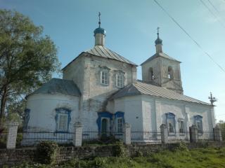 Мамонино авылындагы храм